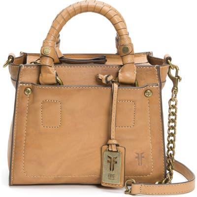 Frye Mini Demi Leather Satchel - Brown