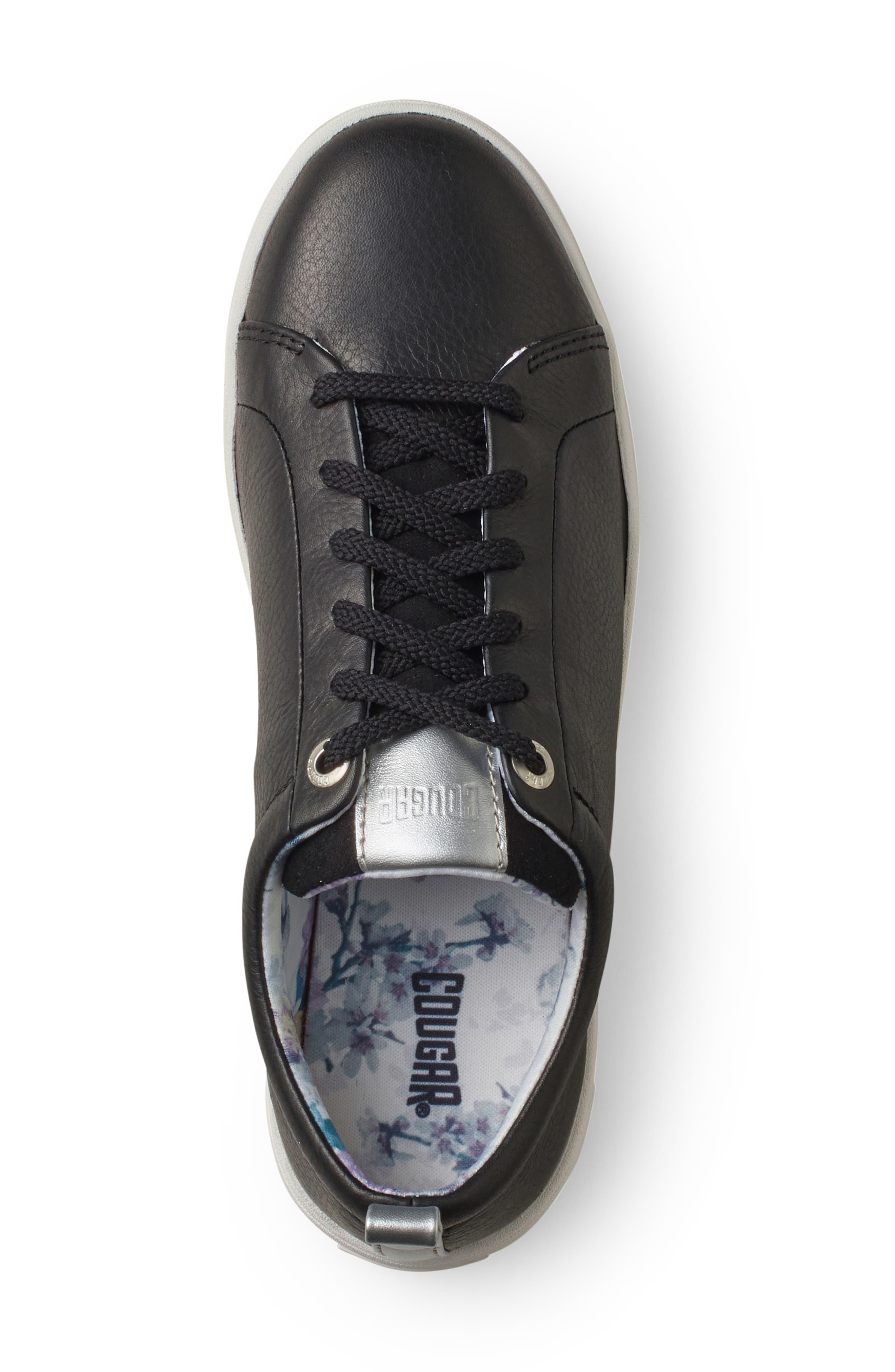 ,                             Bloom Sneaker,                             Alternate thumbnail 3, color,                             BLACK LEATHER