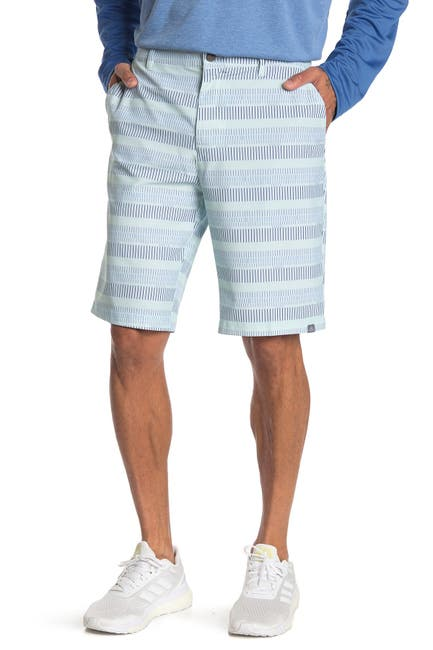 Image of adidas Ultimate 365 Striped Golf Shorts