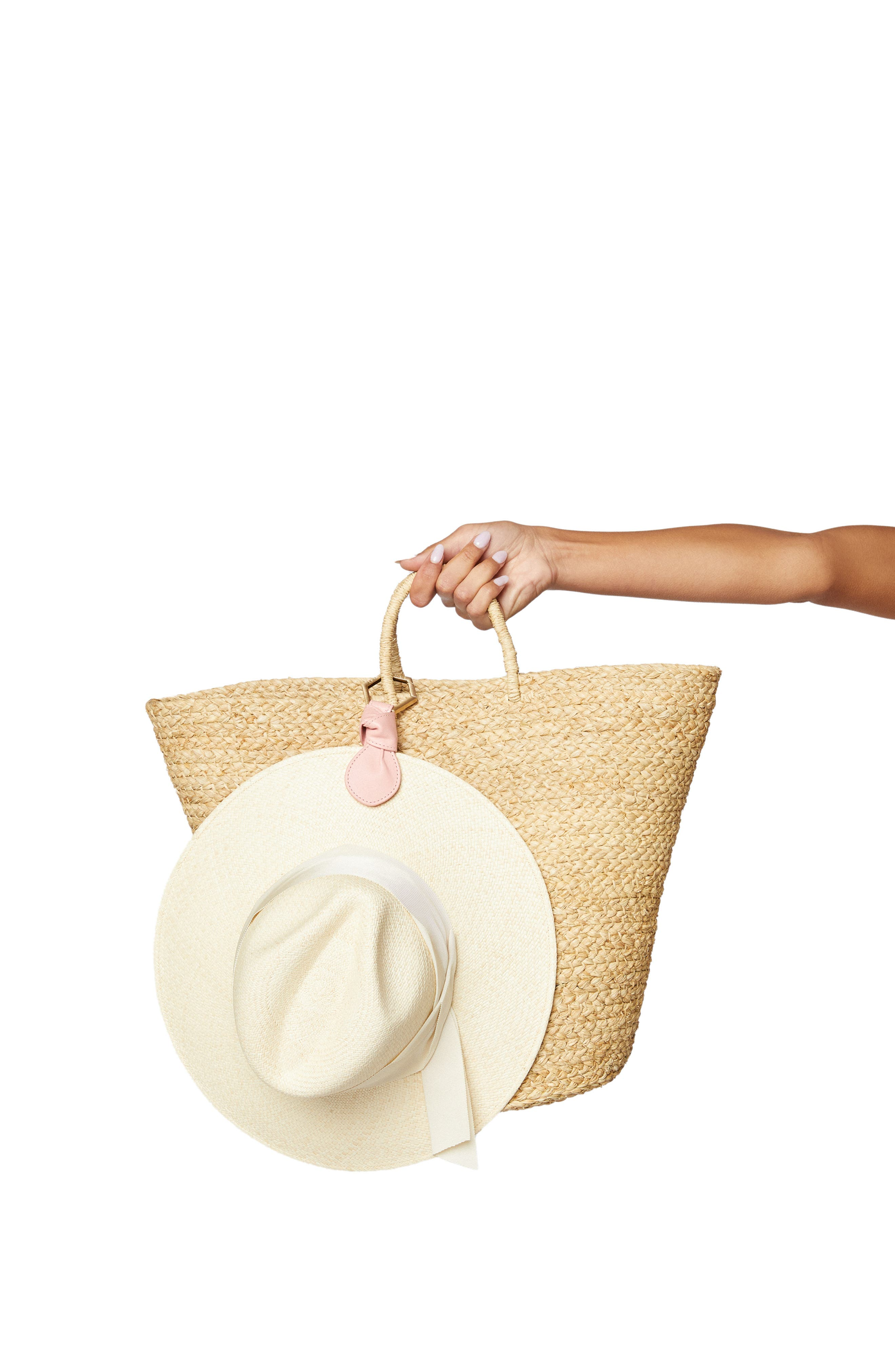 Toptote The Knot Leather Hat Holder