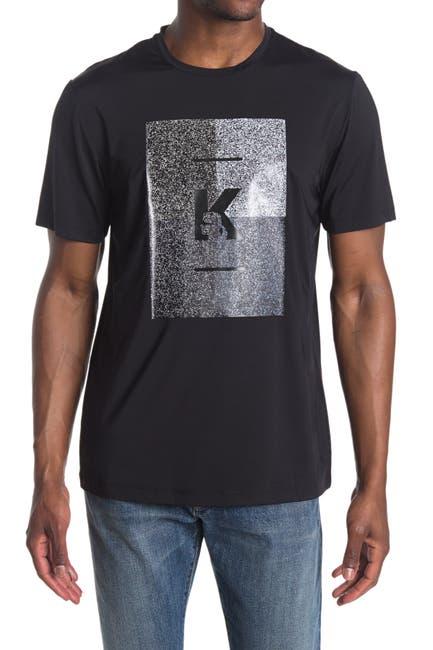 Image of Karl Lagerfeld Paris Crew Neck Short Sleeve Graphic T-Shirt