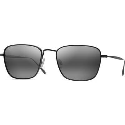 Maui Jim Spinnaker 5m Polarized Sunglasses - Matte Black