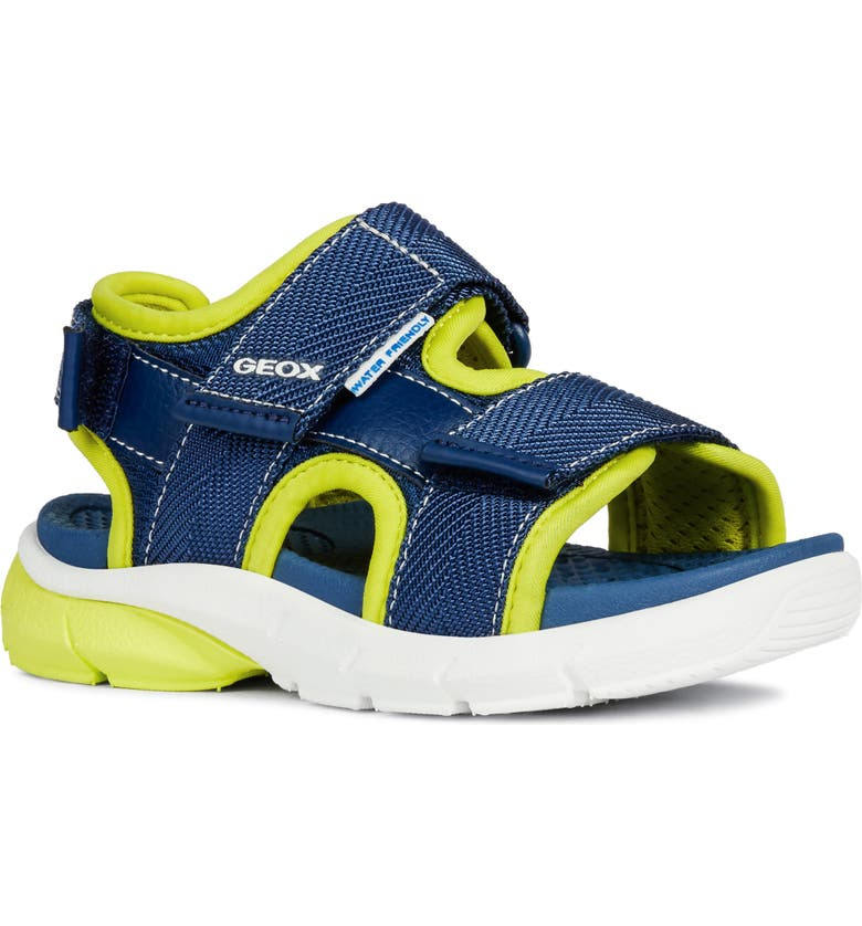 GEOX Flexyper Water Resistant Sandal, Main, color, 411