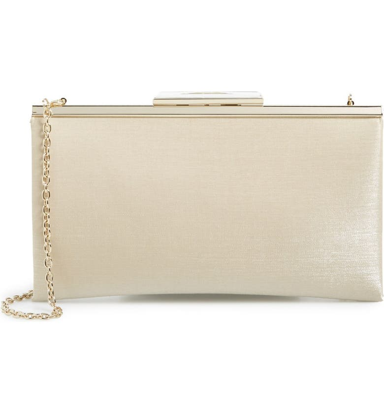 GLINT 'Shimmer Topper' Clutch, Main, color, 250