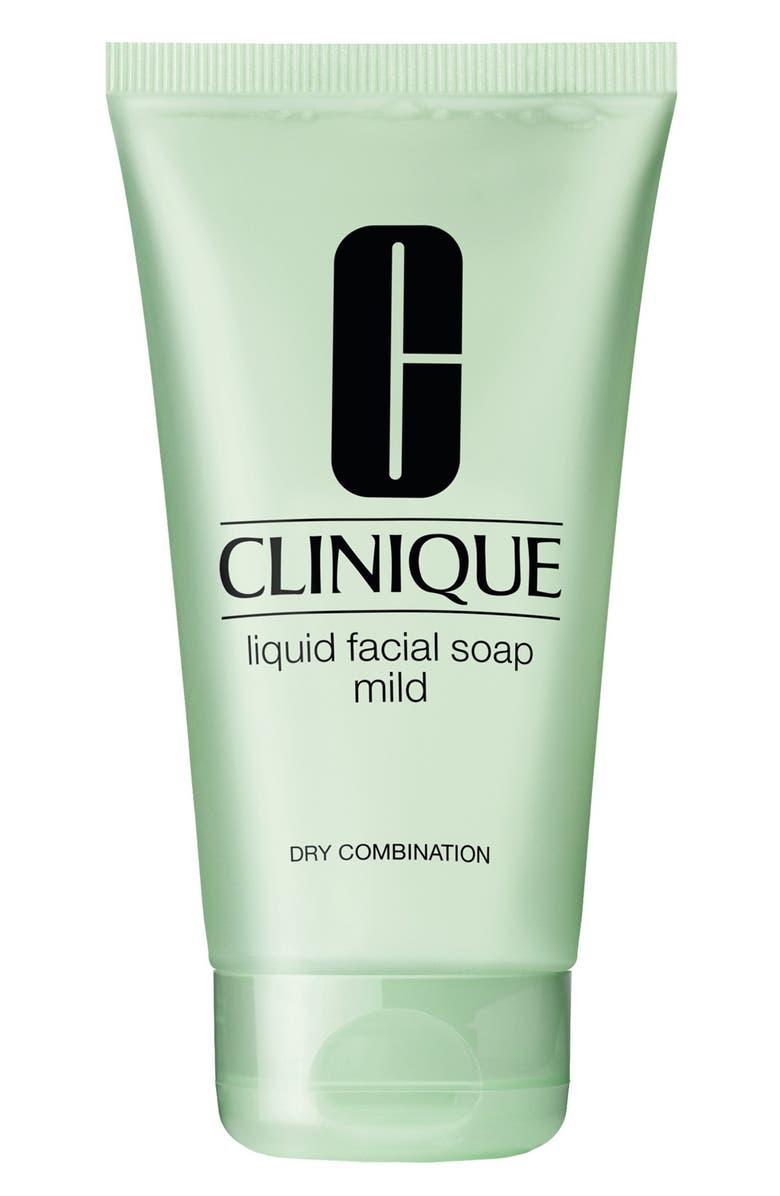 CLINIQUE Liquid Facial Soap Mild, Main, color, NO COLOR