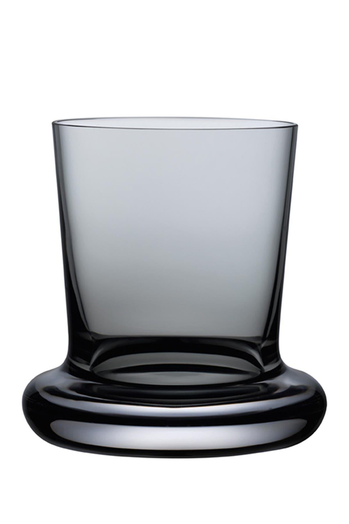 Image of Nude Glass Stamp Tumbler Glasses - Smoke - Set of 2