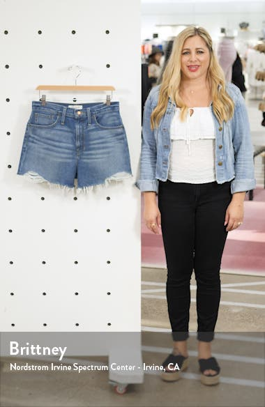 The Perfect Vintage Denim Shorts, sales video thumbnail