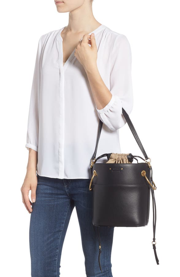 290fd0201f142 Chloé Roy Small Leather Bucket Bag | Nordstrom