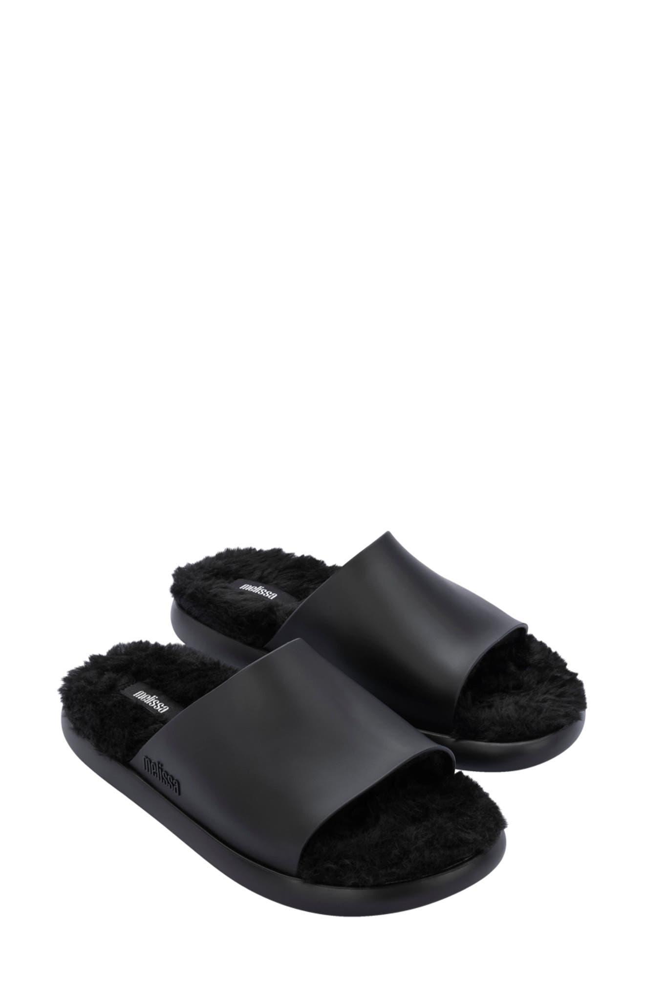 Fluffy Slide Sandal