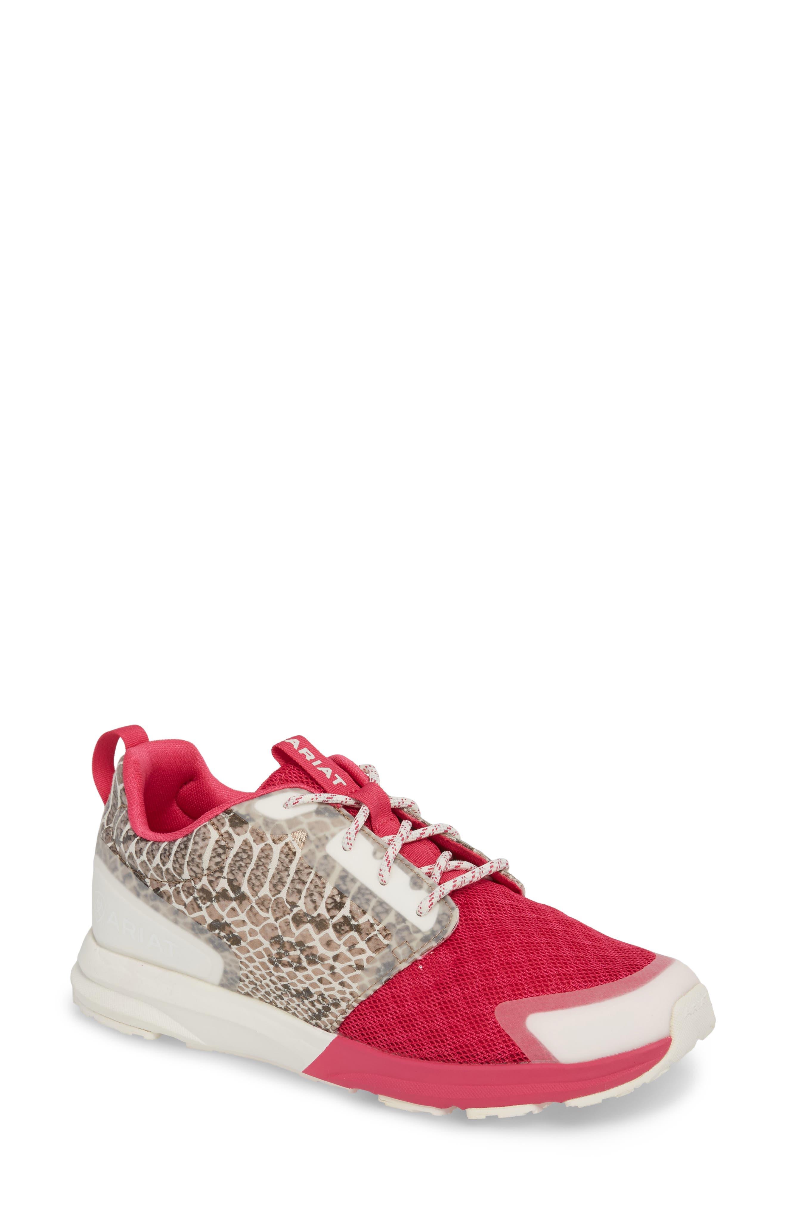 Ariat Fuse Print Sneaker- Pink