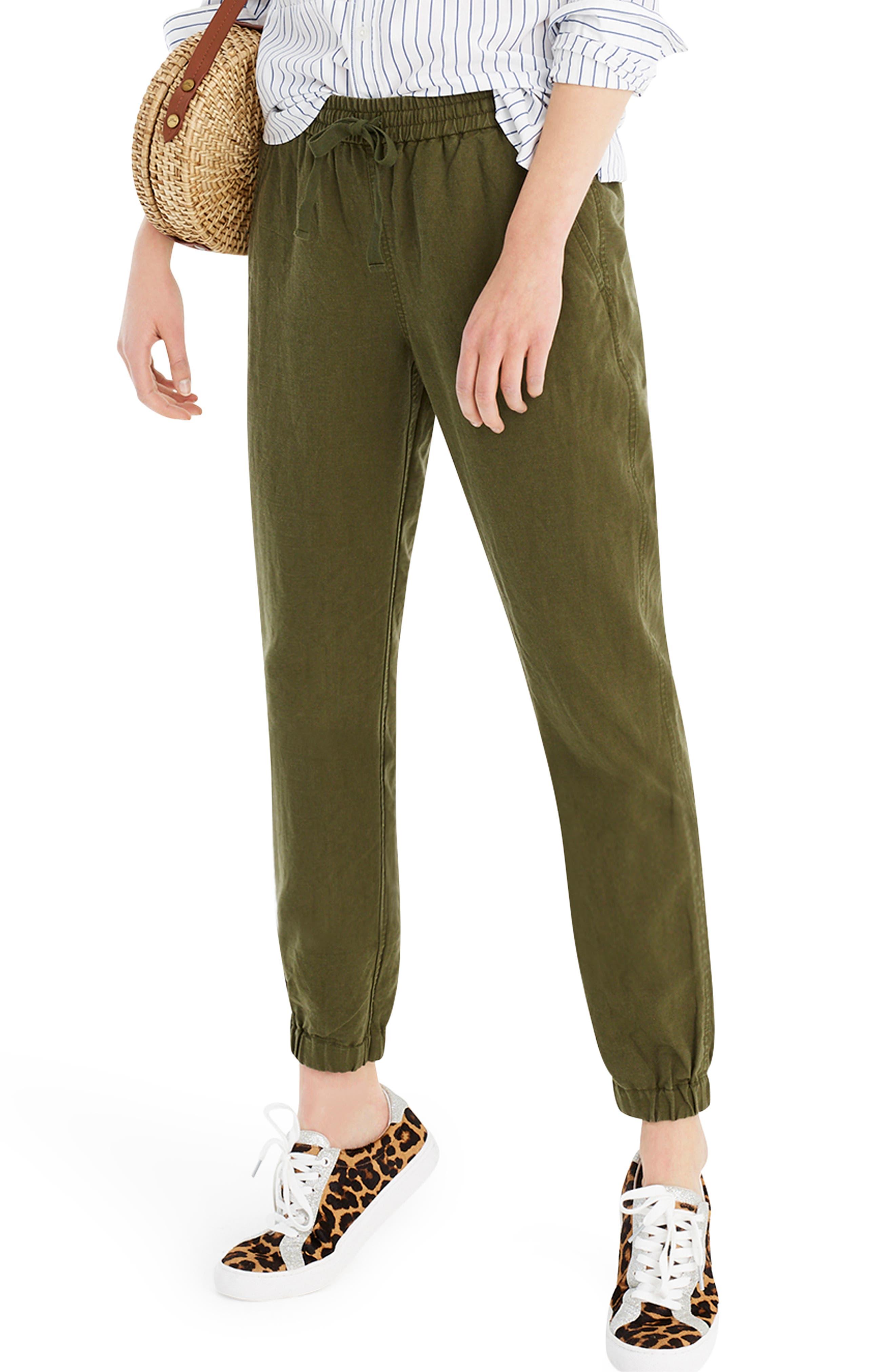 ,                             New Seaside Pants,                             Alternate thumbnail 3, color,                             LODEN GREEN