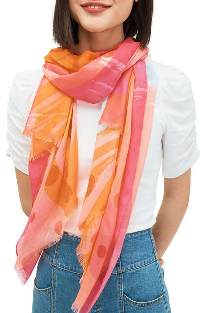 Kate Spade ABSTRACT COCKTAIL SCARF