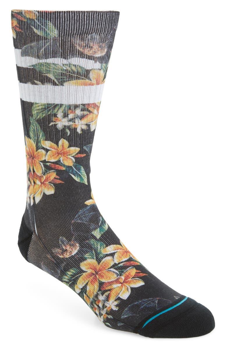 STANCE Nankului Socks, Main, color, BLACK