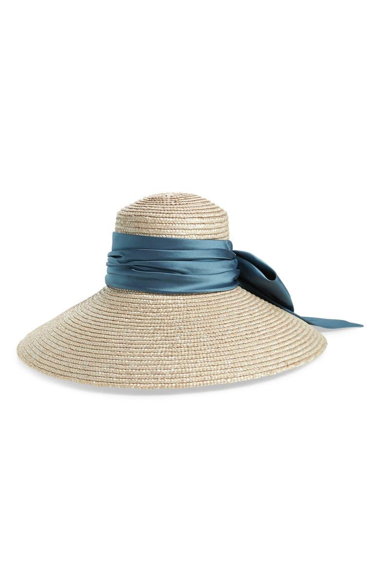 EUGENIA KIM Mirabel Straw Hat, Main, color, 020