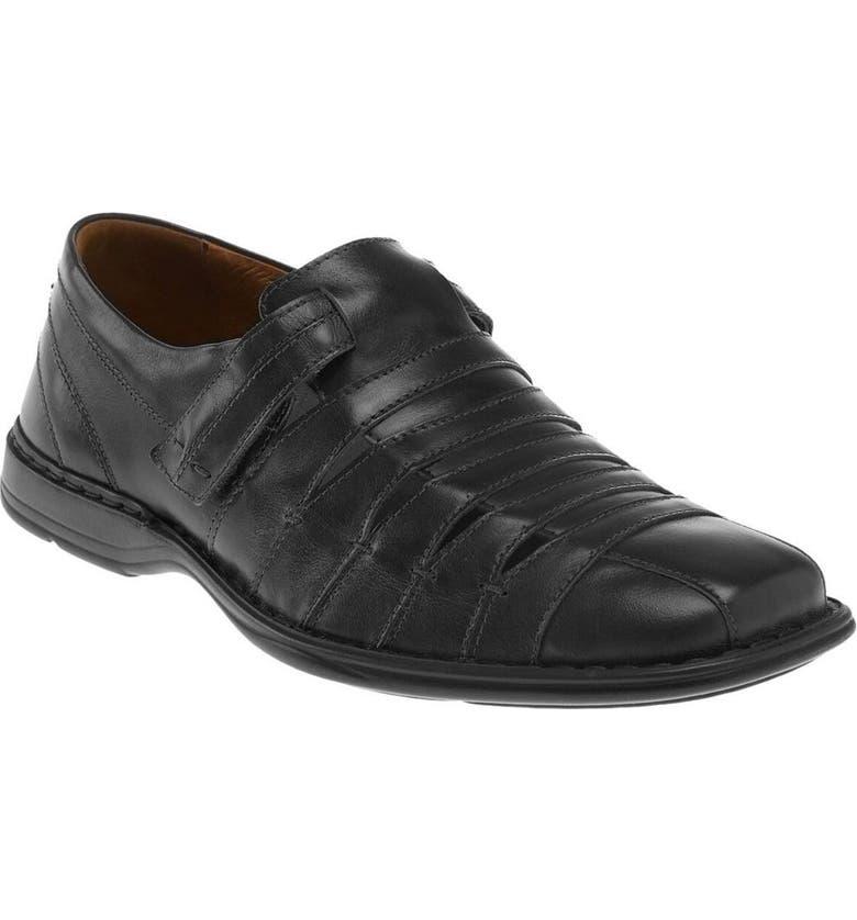 JOSEF SEIBEL 'Steven' Sandal, Main, color, ROMA BLACK