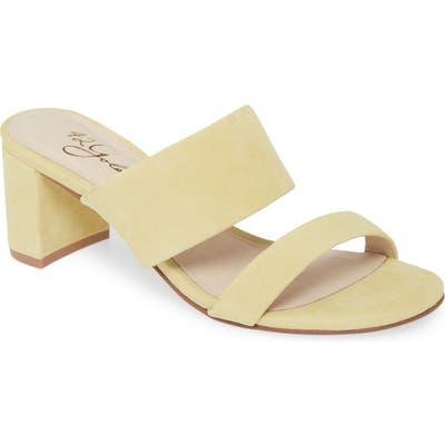 42 Gold Liya Slide Sandal, Orange