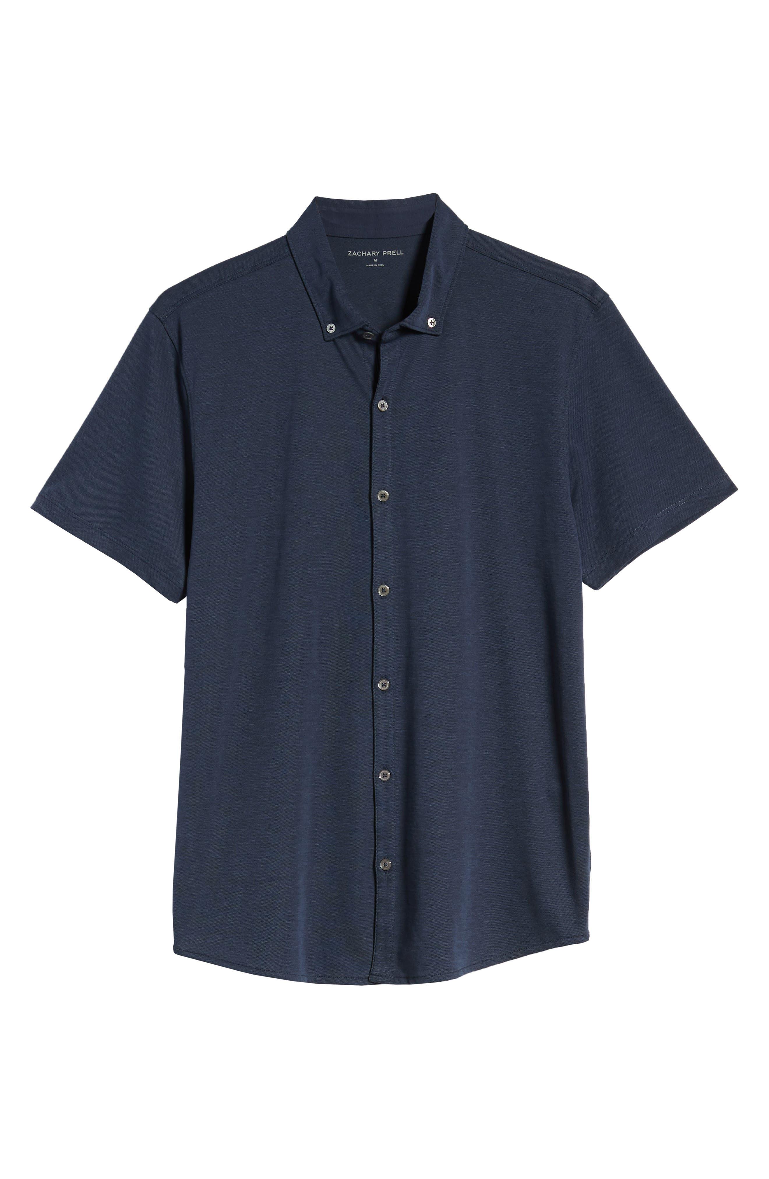 ,                             Caruth Regular Fit Short Sleeve Sport Shirt,                             Alternate thumbnail 24, color,                             410