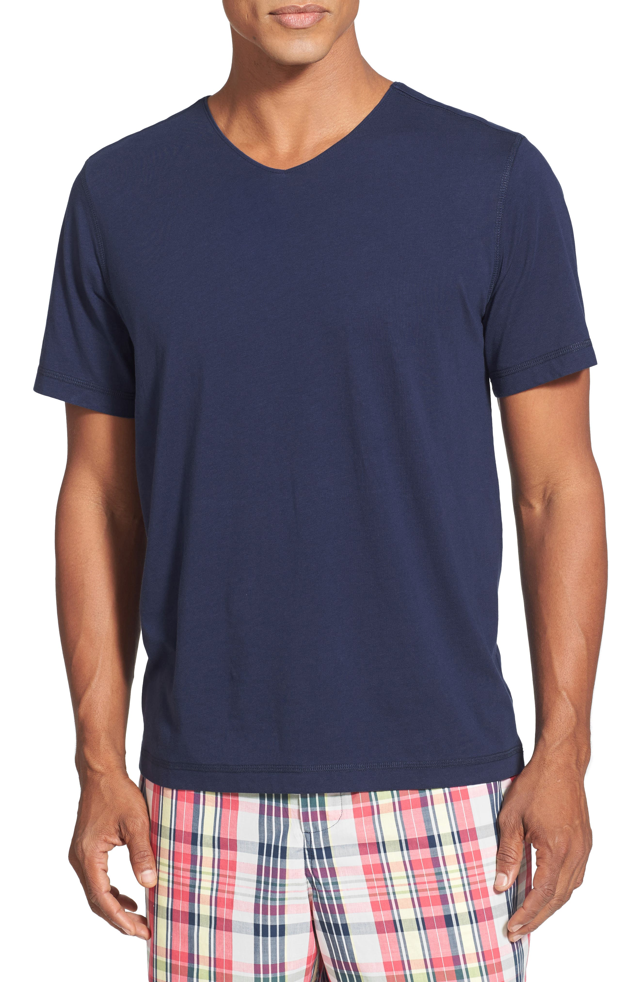 V-Neck Peruvian Pima Cotton T-Shirt