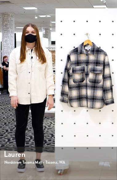Plaid Shirt Jacket, sales video thumbnail