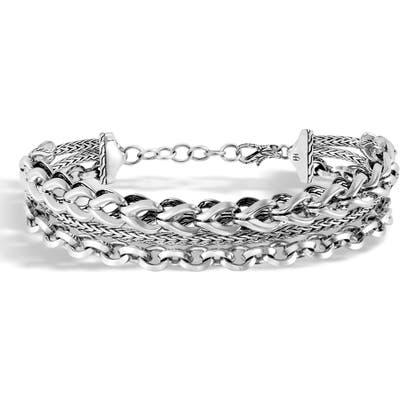 John Hardy Asli Classic Chain Triple Row Bracelet