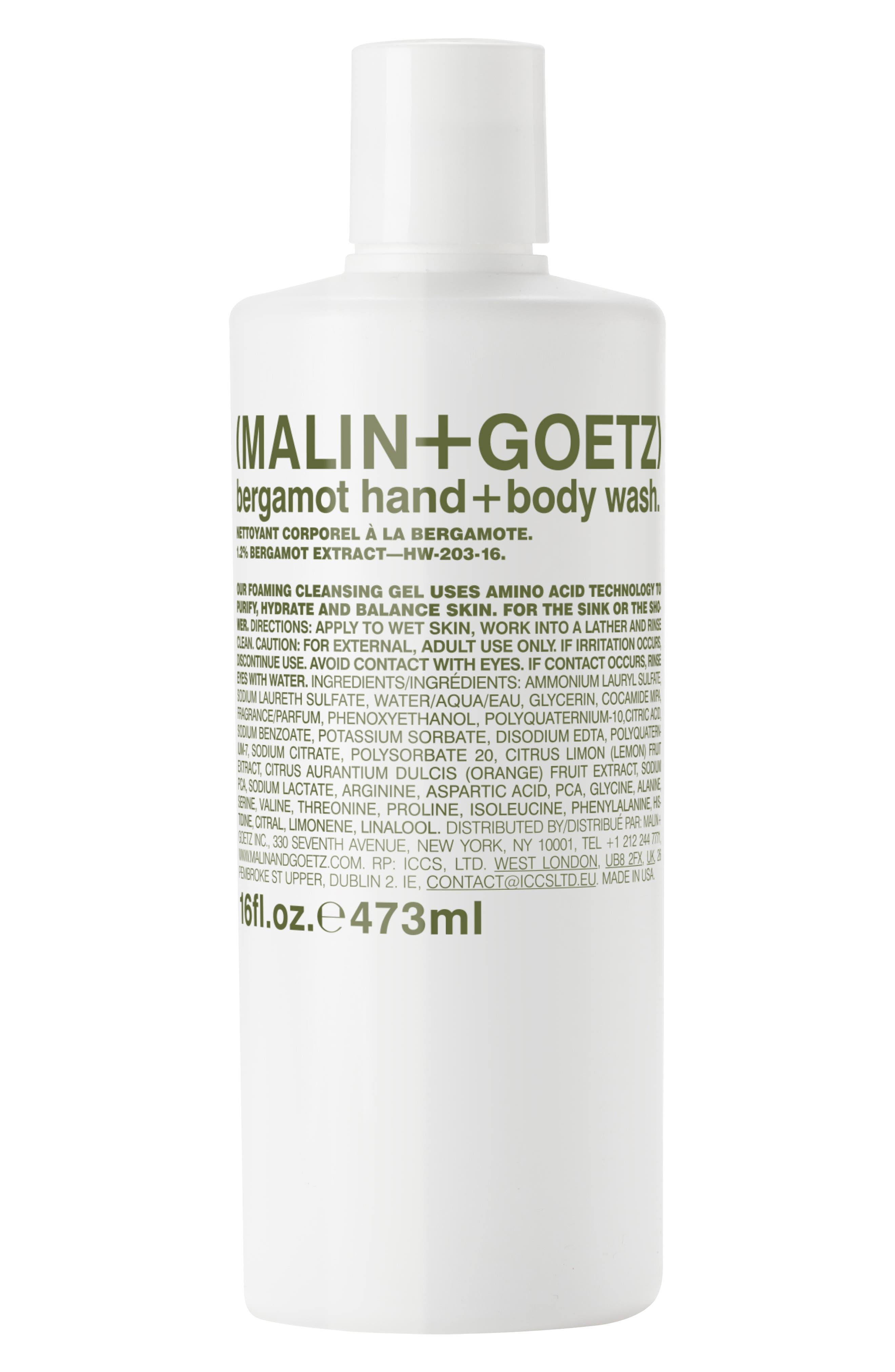 Malin+Goetz Bergamot Hand & Body Wash Refill
