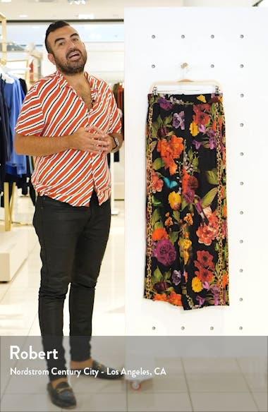 Benny Floral Smock Waist Pants, sales video thumbnail