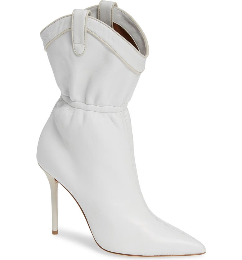 MALONE SOULIERS Daisy Cinched Bootie, Main, color, 100
