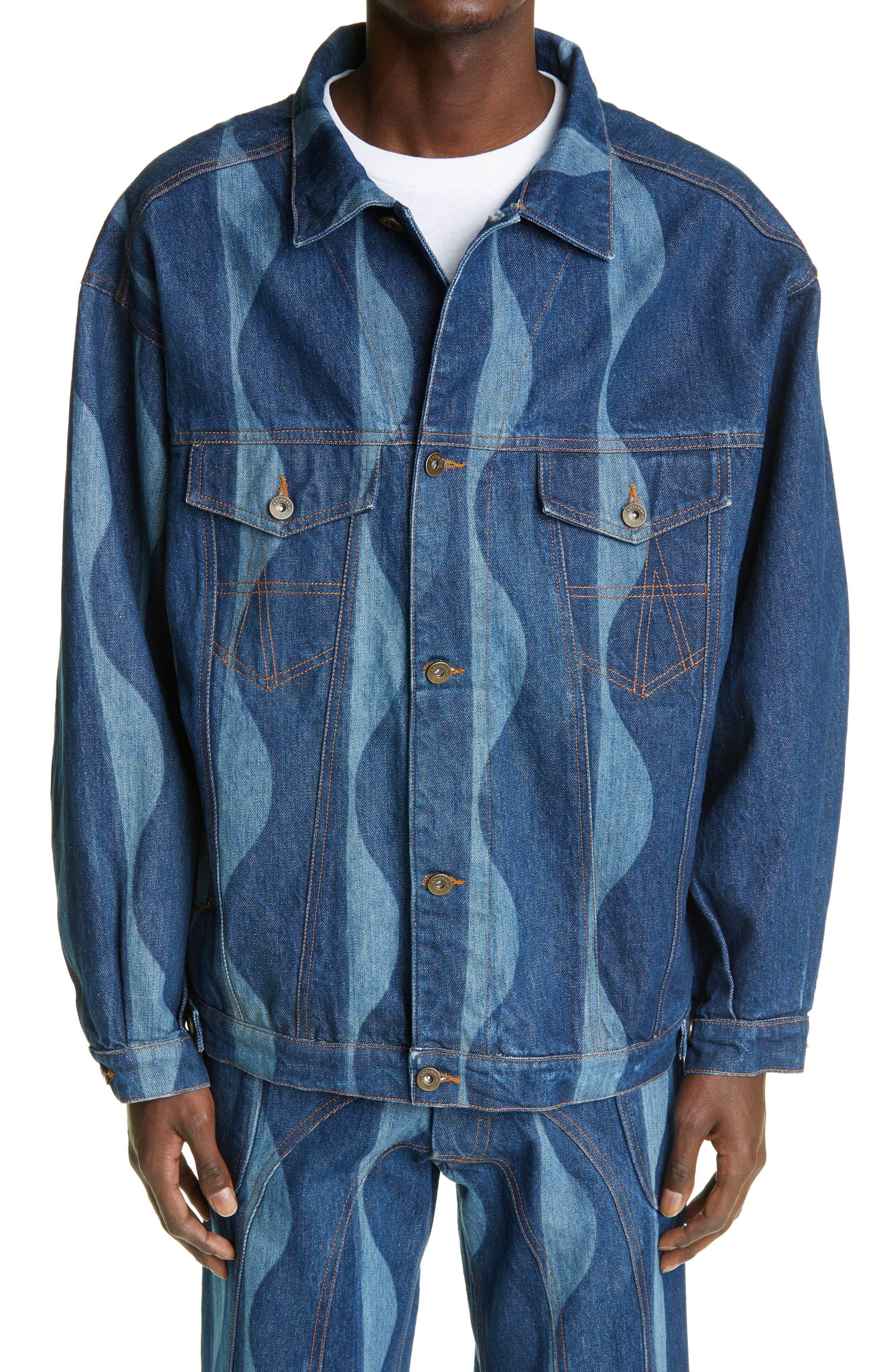 Men's Ahluwalia Signature Joy Denim Jacket