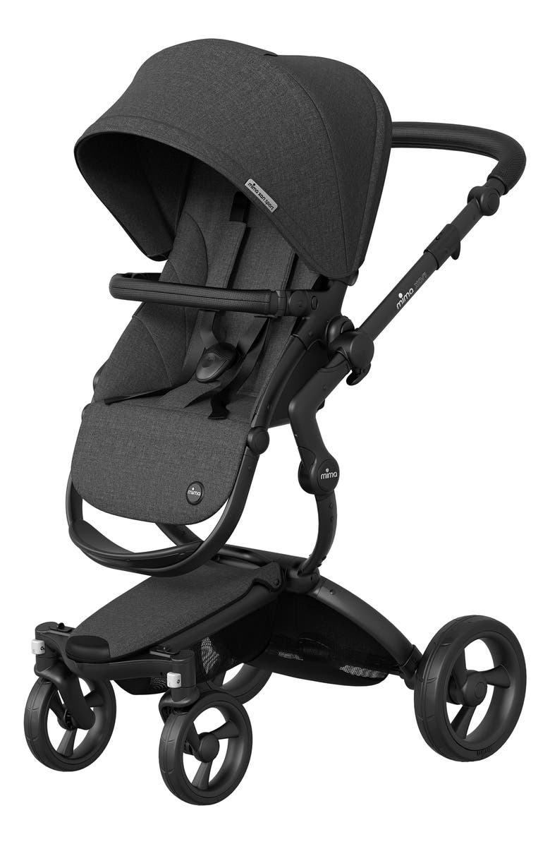 MIMA Xari Sport Stroller, Main, color, CHARCOAL/ BLACK