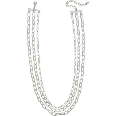 Canvas Jewelry Yara Layered Chain Necklace