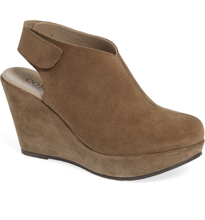 CORDANI Ripley Wedge, Main, color, TAUPE SUEDE