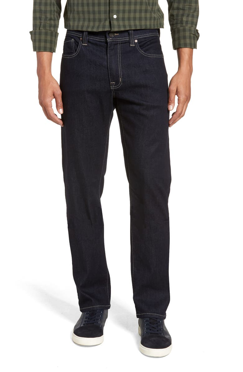 FIDELITY DENIM Jimmy Slim Straight Leg Jeans, Main, color, SALAZAR