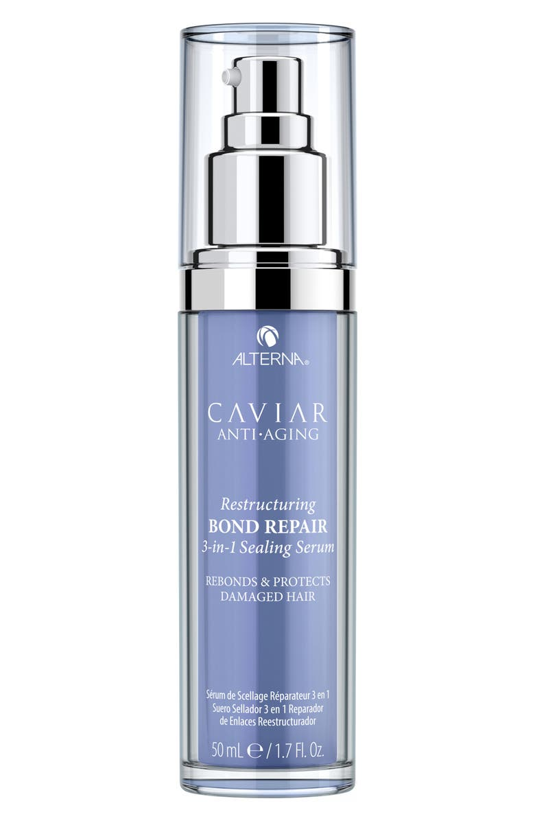 ALTERNA<SUP>®</SUP> Caviar Anti-Aging Restructuring Bond Repair 3-in-1 Sealing Serum, Main, color, NO COLOR