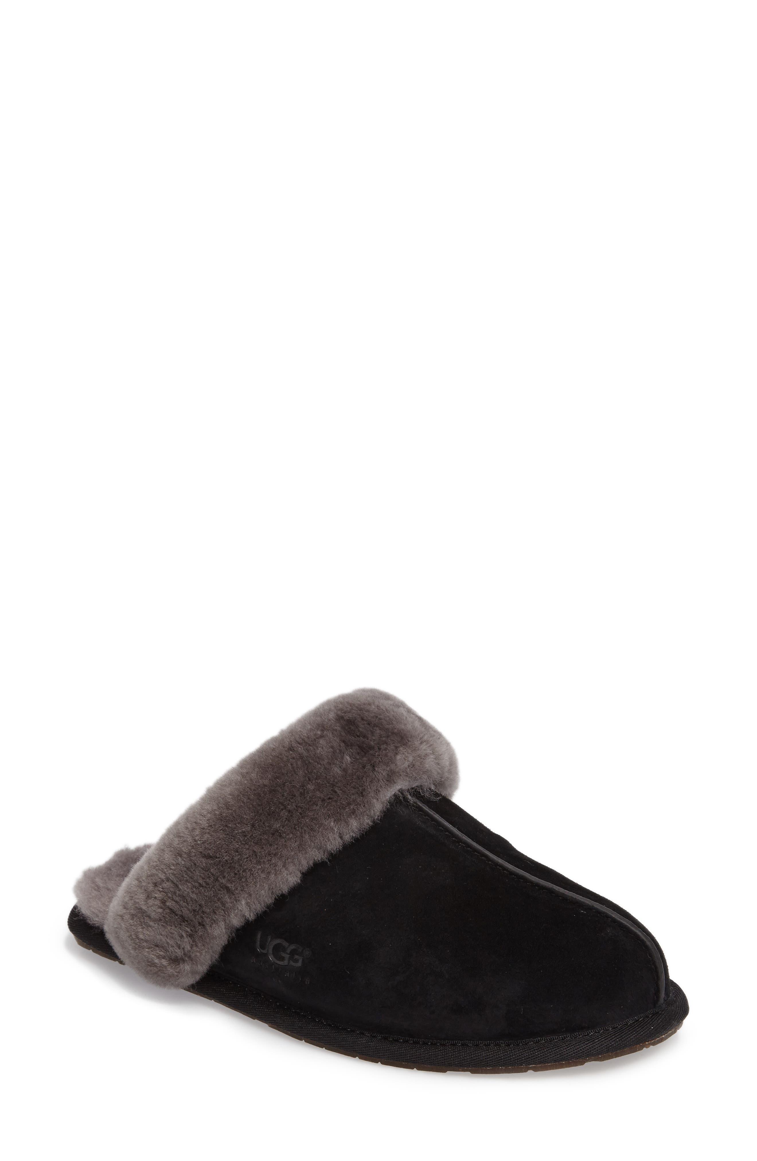 Ugg Scuffette Ii Water Resistant Slipper, Black