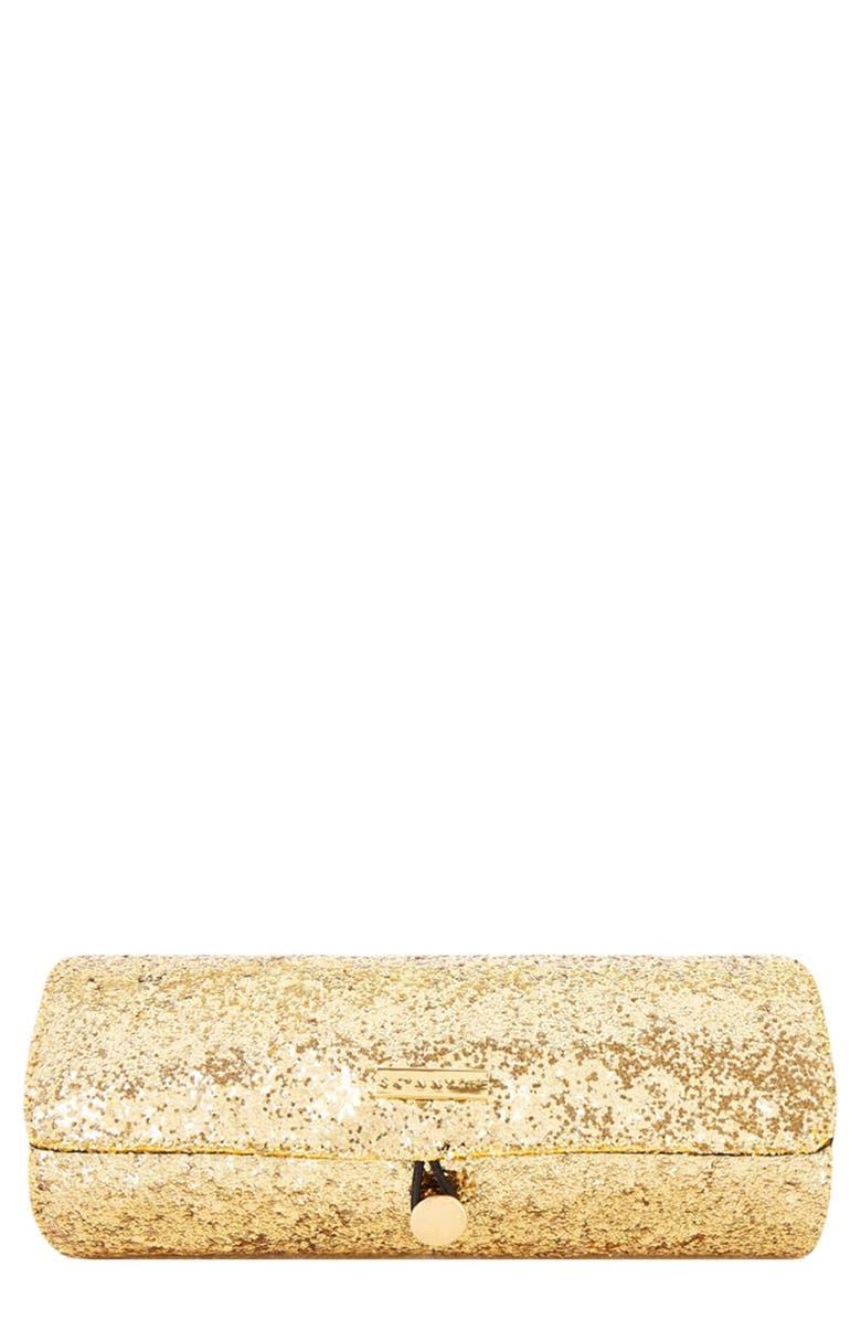SKINNYDIP Glitter Brush Roll, Main, color, NO COLOR
