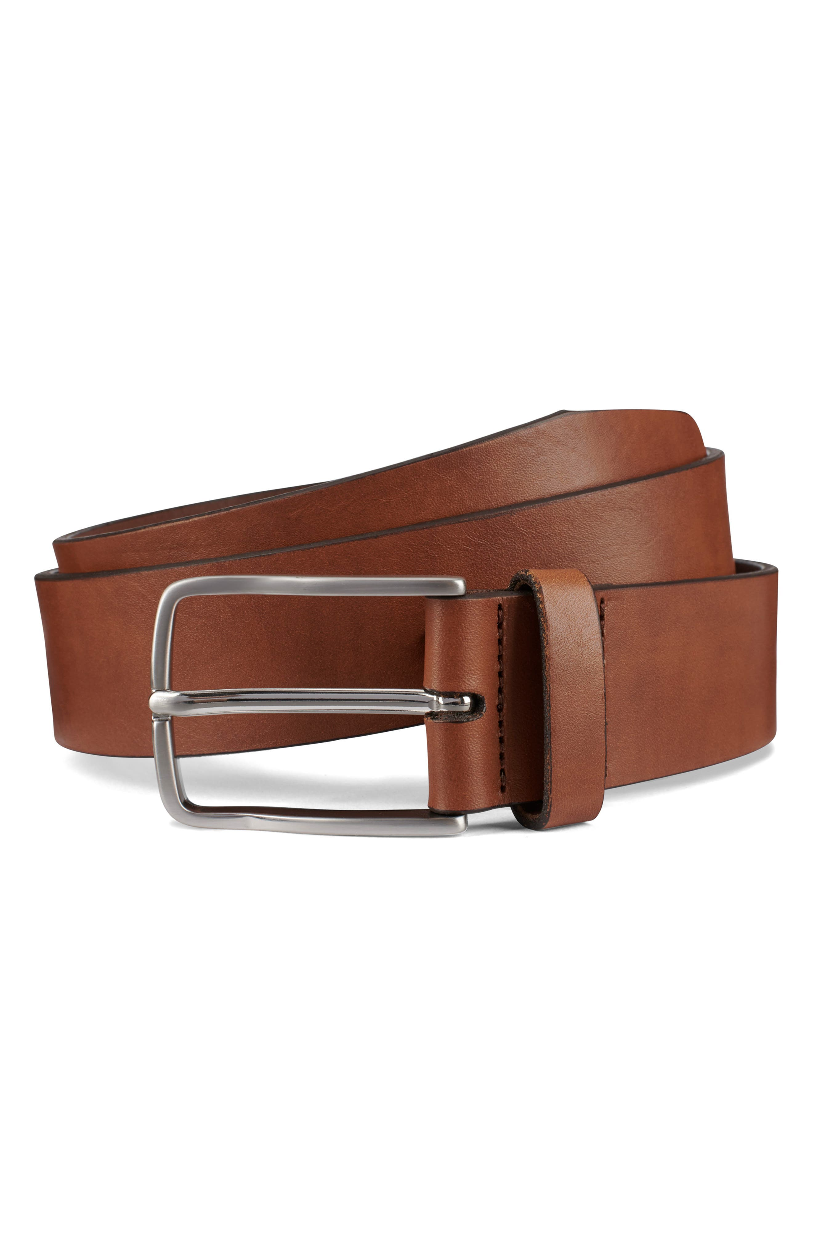 Broadway Avenue Leather Belt