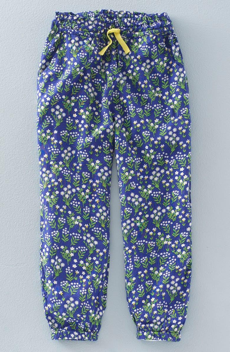 MINI BODEN 'Pretty' Floral Print Pants, Main, color, 404