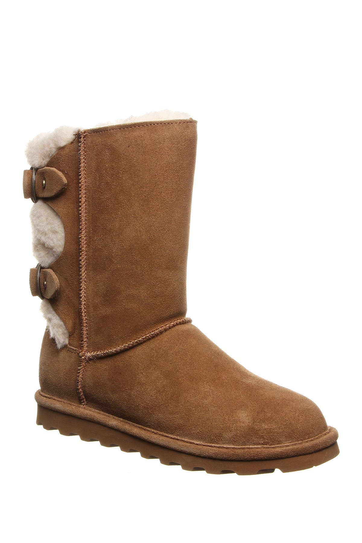 Image of BEARPAW Eloise Wide Suede Ankle Boot
