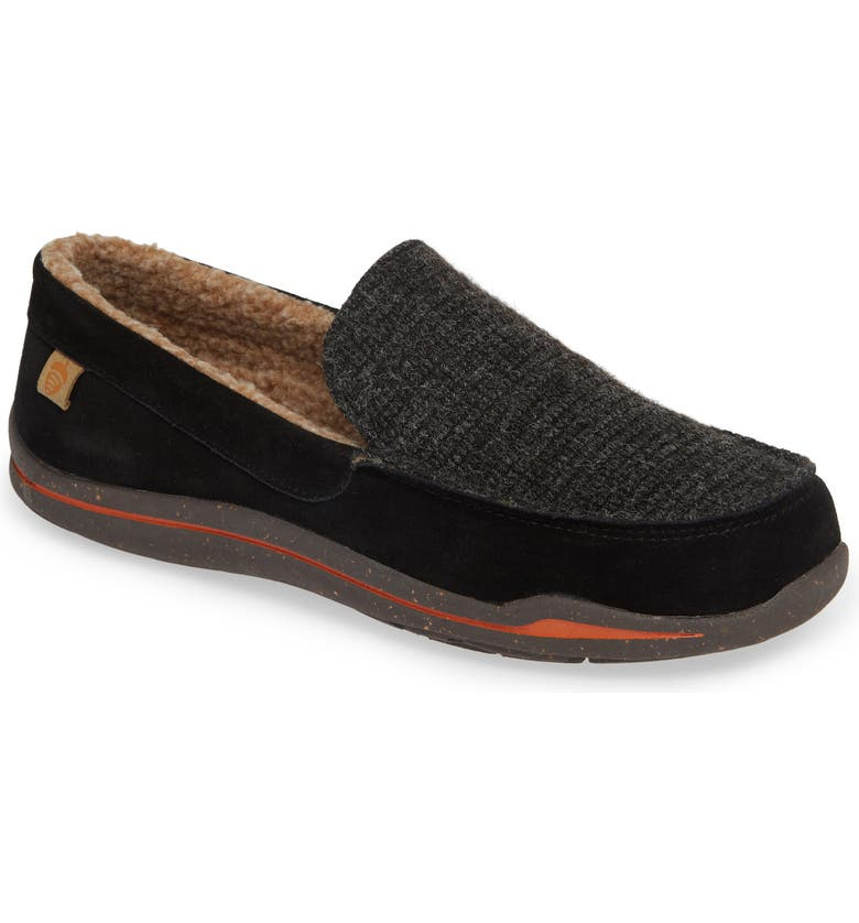 ACORN Ellsworth Moc Toe Slipper, Main, color, 001