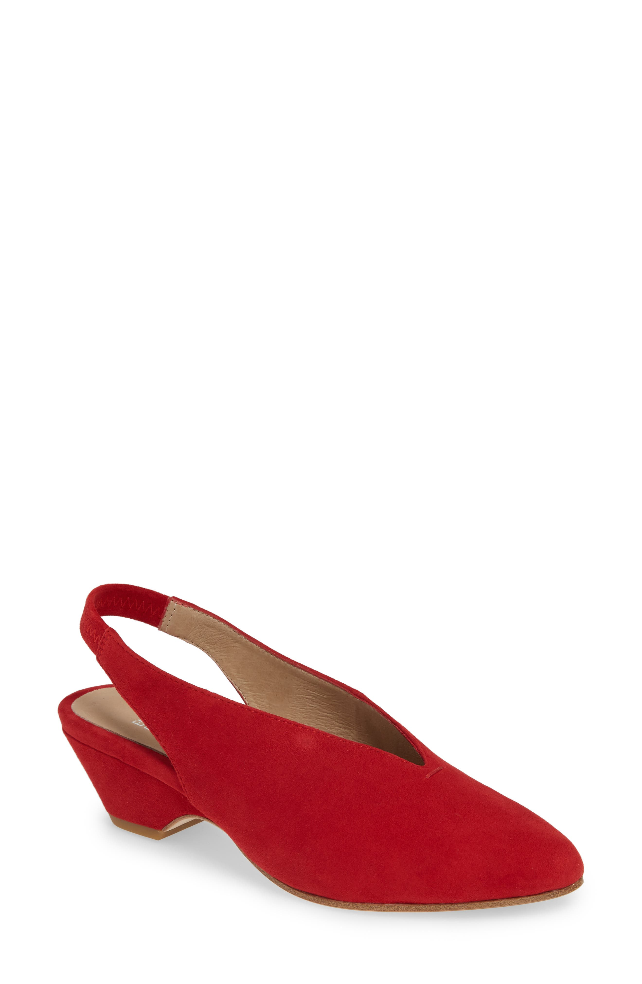 Eileen Fisher Gatwick Slingback Pump, Red