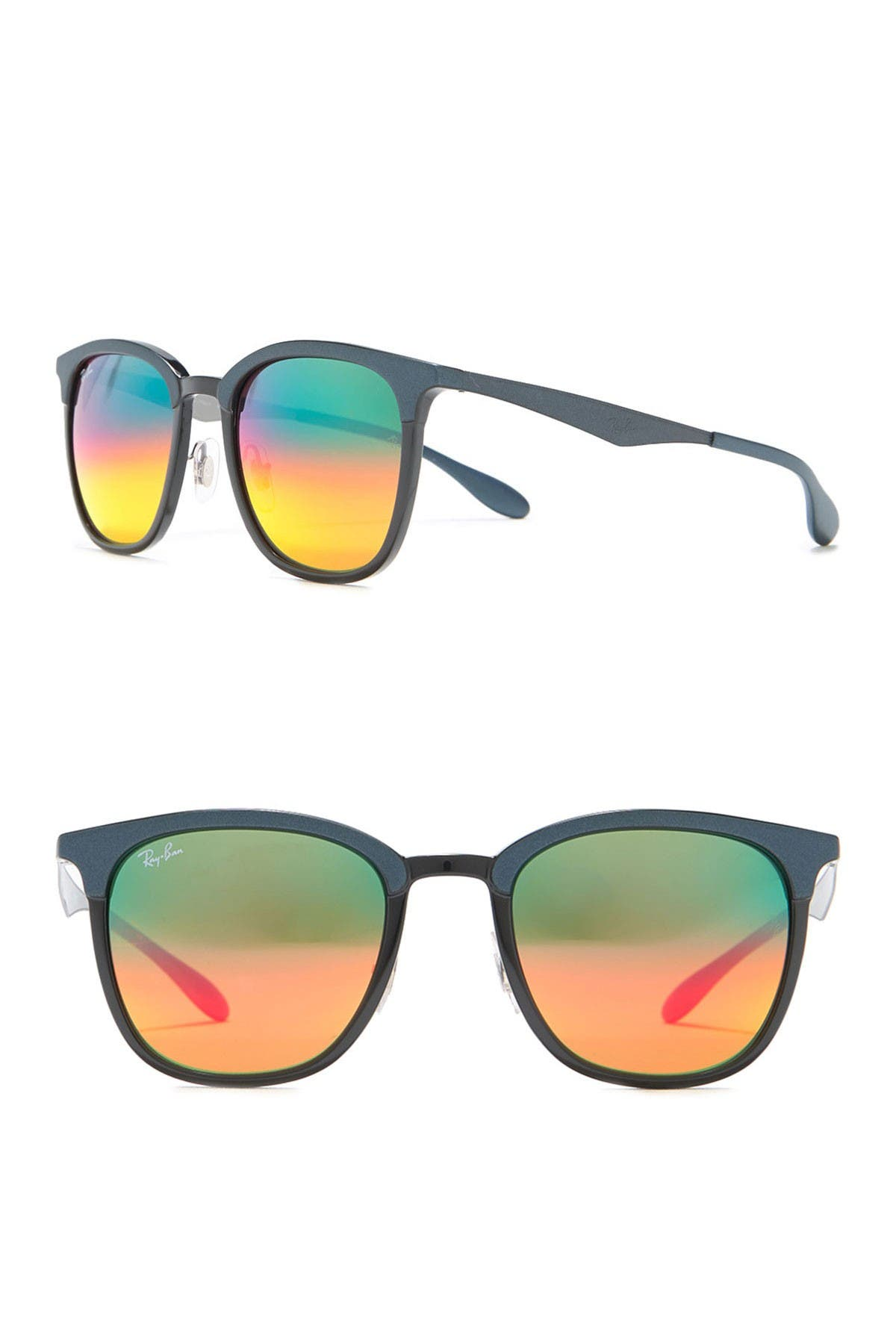 Image of Ray-Ban 51mm Injected Square Sunglasses