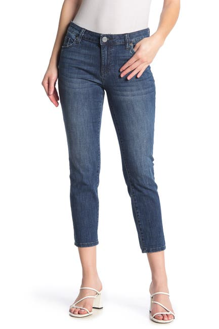 Image of KUT from the Kloth New Bardot Crop Jeans