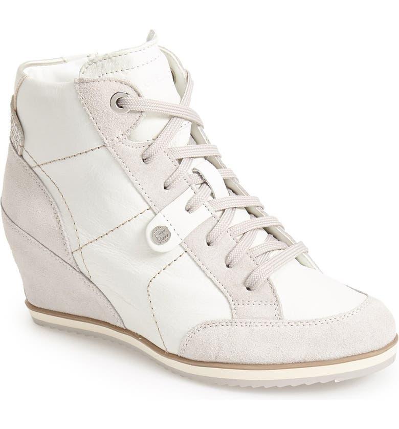 cc4efb2364 Geox 'Illusion 25' High Top Wedge Sneaker (Women) | Nordstrom
