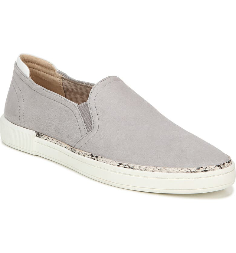 NATURALIZER Jade Slip-On Sneaker, Main, color, ICY GREY SUEDE