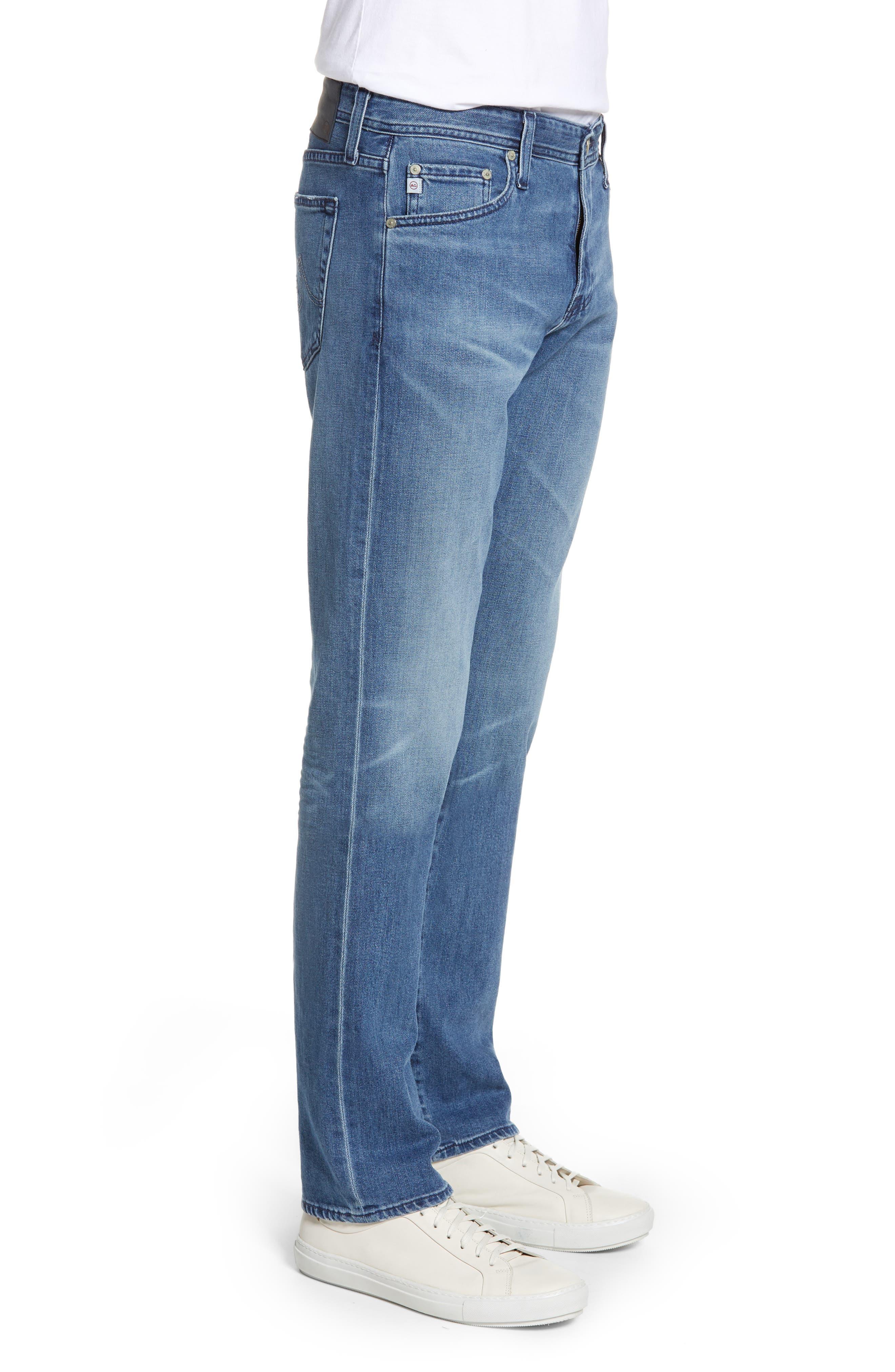 ,                             Graduate Slim Straight Leg Jeans,                             Alternate thumbnail 4, color,                             16 YEARS SATURN