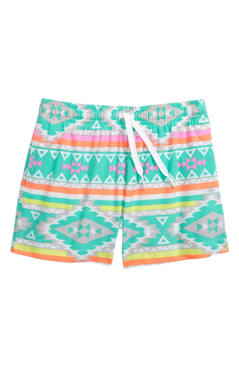 CHUBBIES The Lil Fuegos Swim Trunks, Main, color, 440