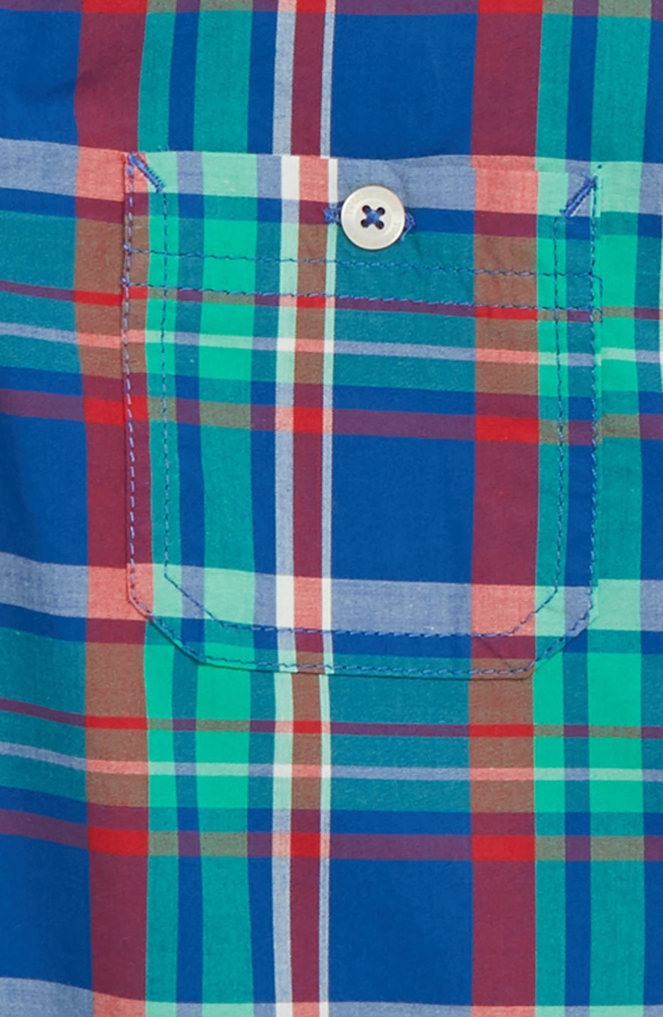 ,                             'Photo' Buffalo Plaid Woven Shirt,                             Alternate thumbnail 2, color,                             401