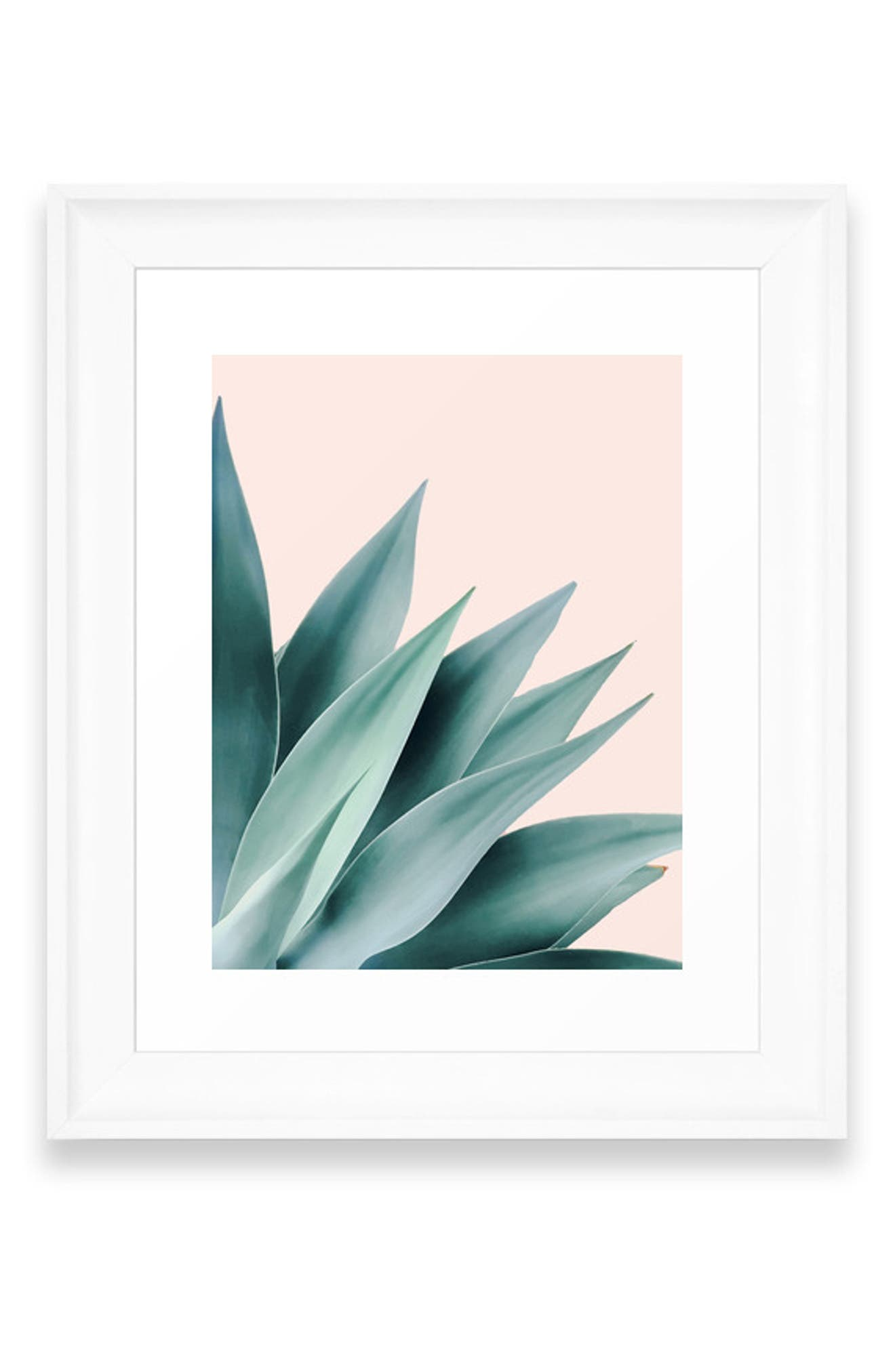 Bring natural style into your home with a matte-finish art print available on its own or in a ready-to-hang frame. Style Name: Deny Designs Agave Flare Ii Art Print. Style Number: 5868607. Available in stores.