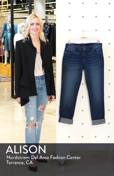 'Catherine' Slim Boyfriend Jeans, sales video thumbnail