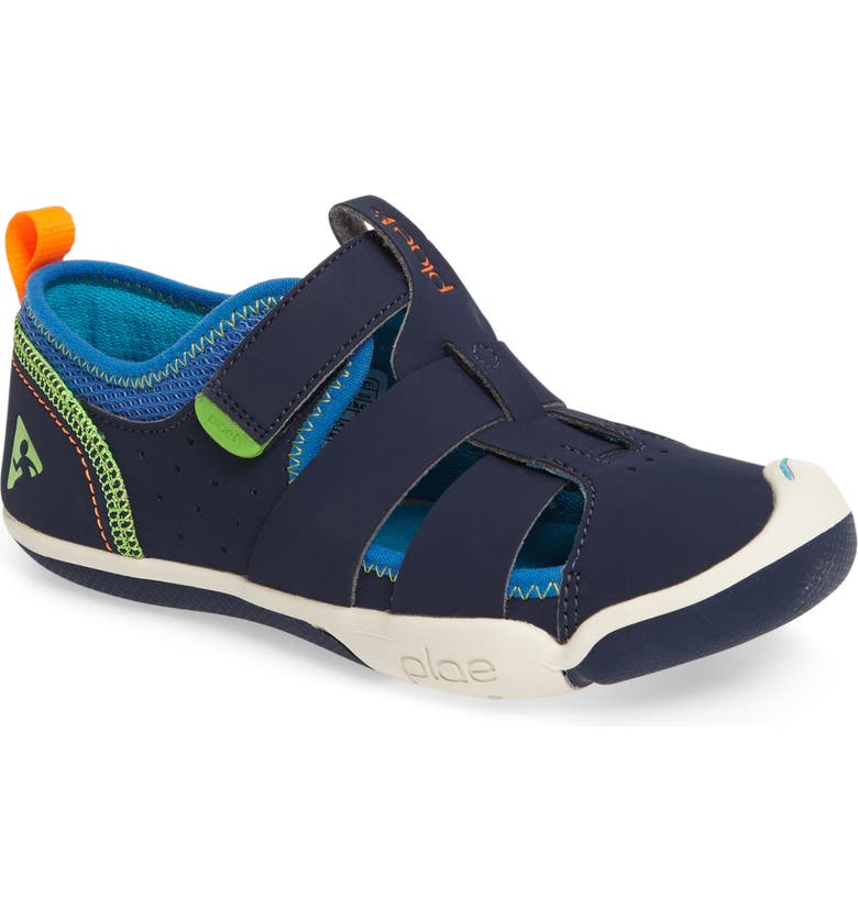 PLAE Sam Sneaker, Main, color, NAVY/ LIGHT BLUE